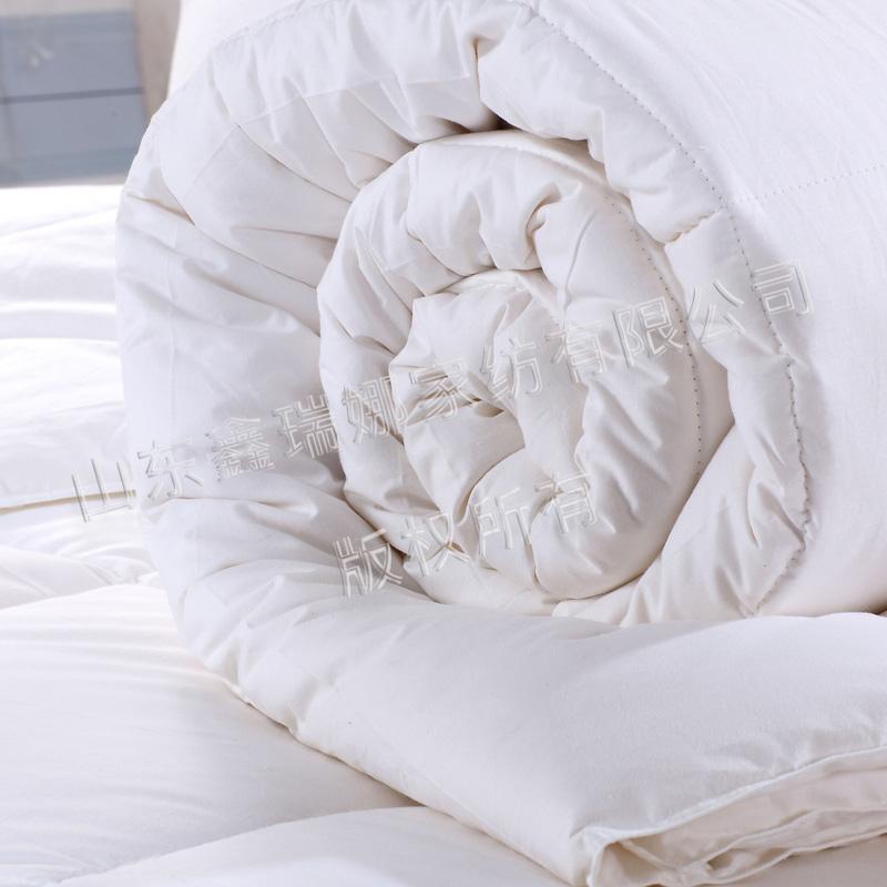 纯棉梭织白被芯