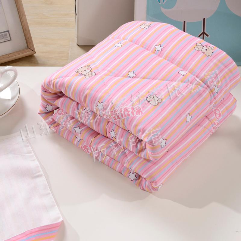 纯棉婴儿抱被(梭织)